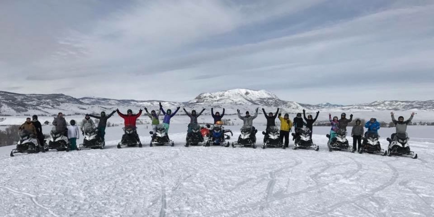 Snowmobiling and Tubing at Musicfest